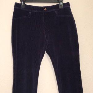 ⭐ HUE Corduroy Style Blue Women's Pants